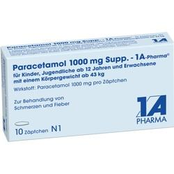 PARACETAMOL 1.000 mg-1A Pharma Suppositorien